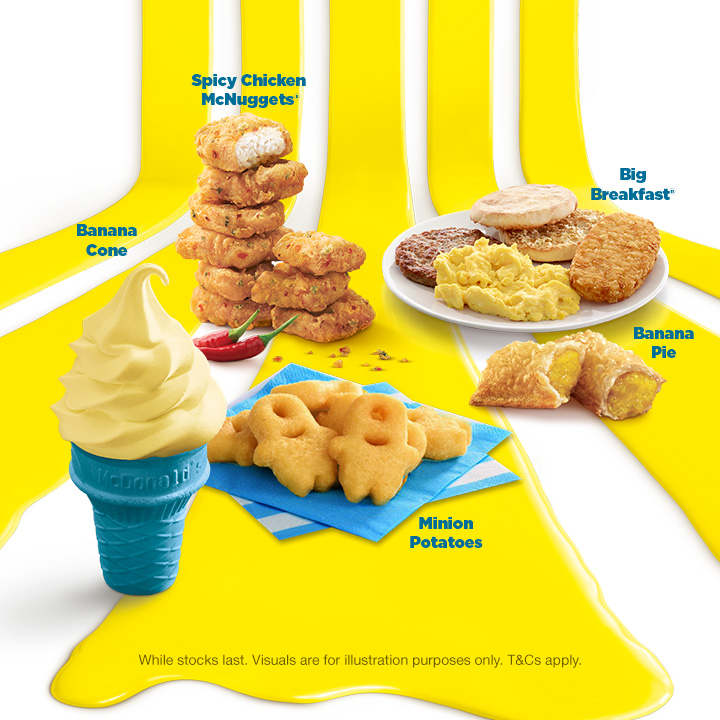 McDonald's Goes BANANAS With MINIONs From Despicable Me