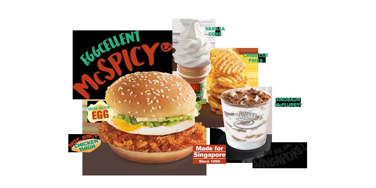 McDonald Eggcellent McSpicy