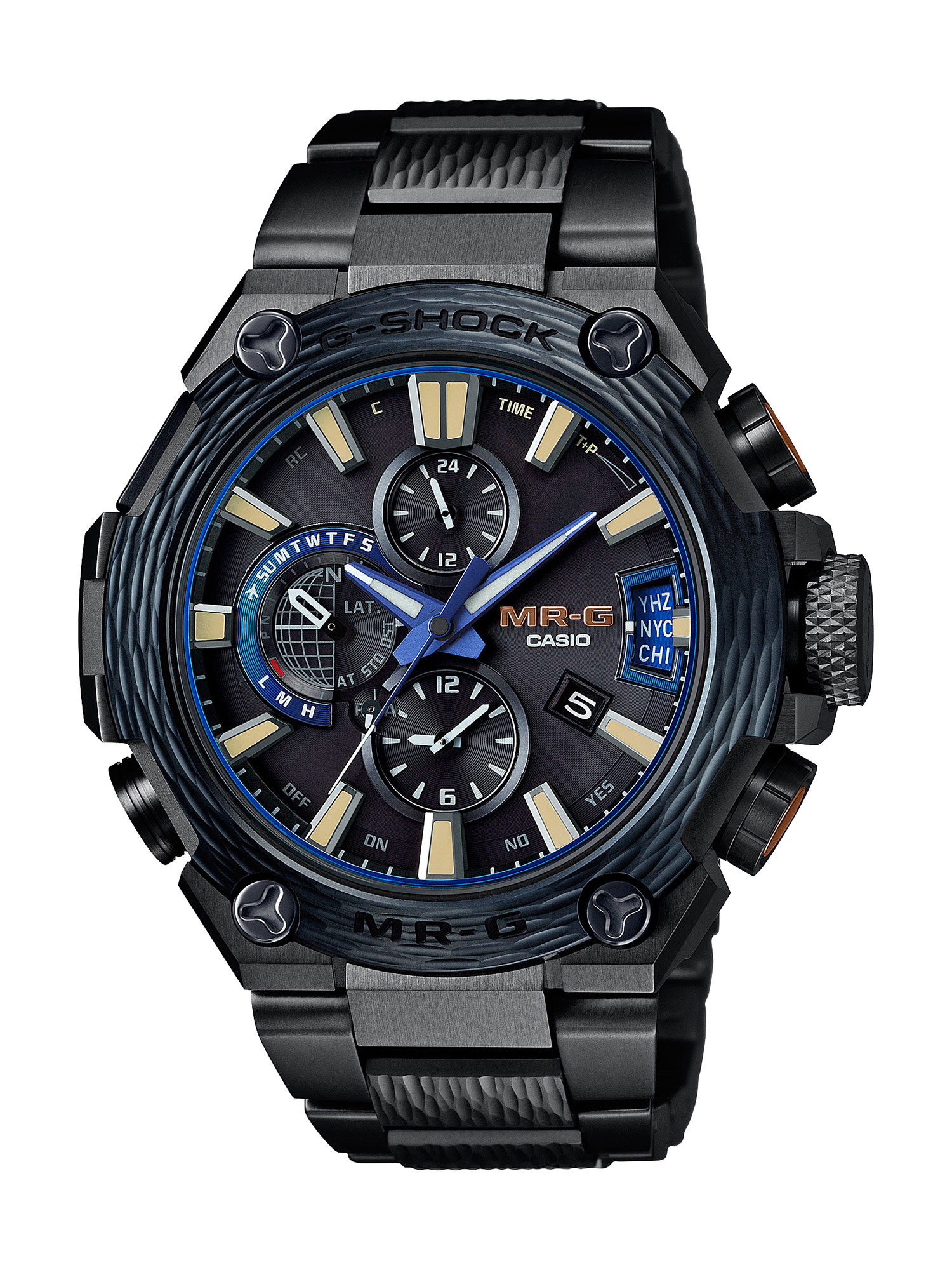 CASIO G-SHOCK Releases Limited Edition Indigo Finish G-SHOCK