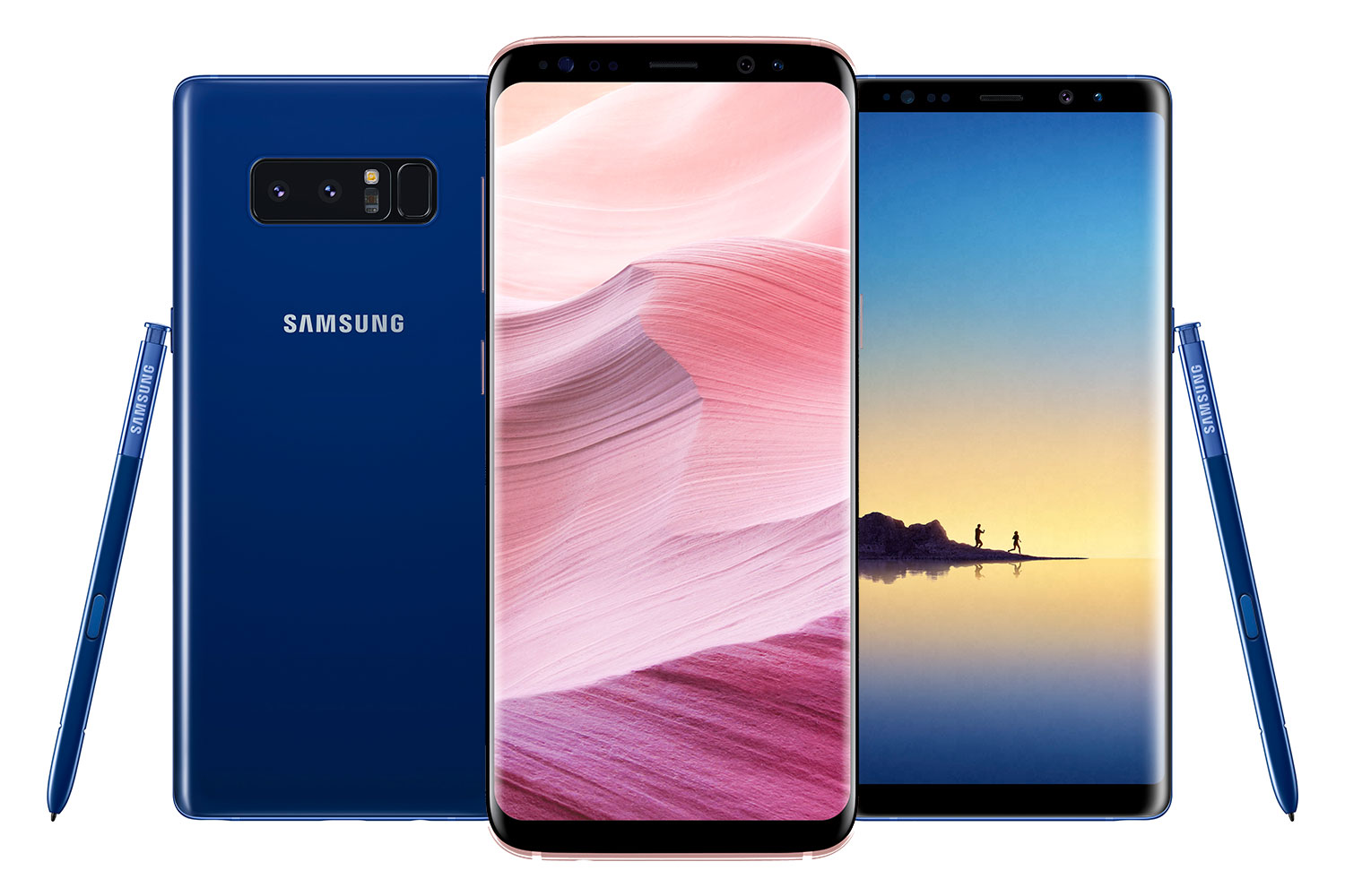 Samsung Galaxy Note 8 and Galaxy S8
