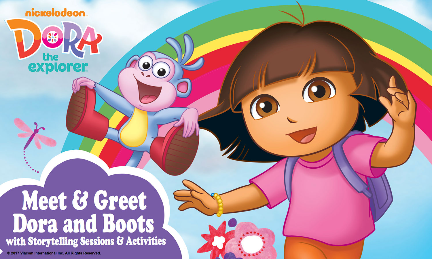 "Dora's ""Are You Ready For Adventure?"" Mall Show"