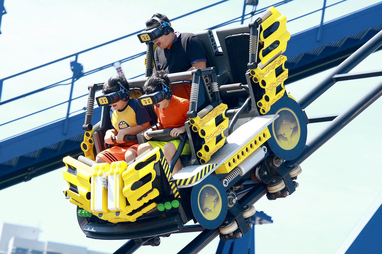 Legoland VR Coaster
