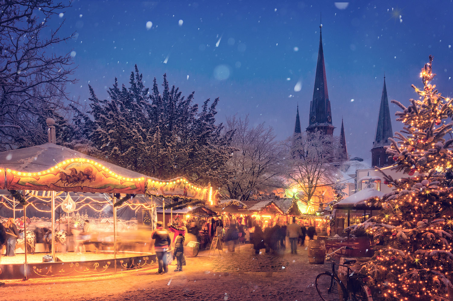 Christmas Market, British Airways