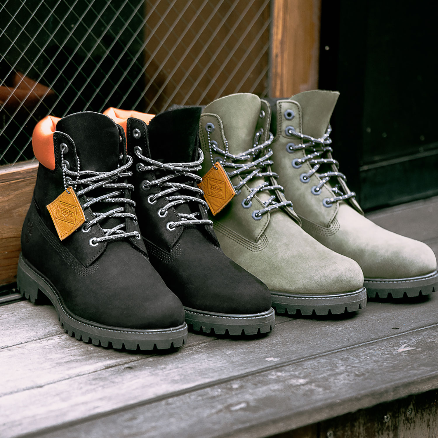 Timberland X Porter Capsule Collection