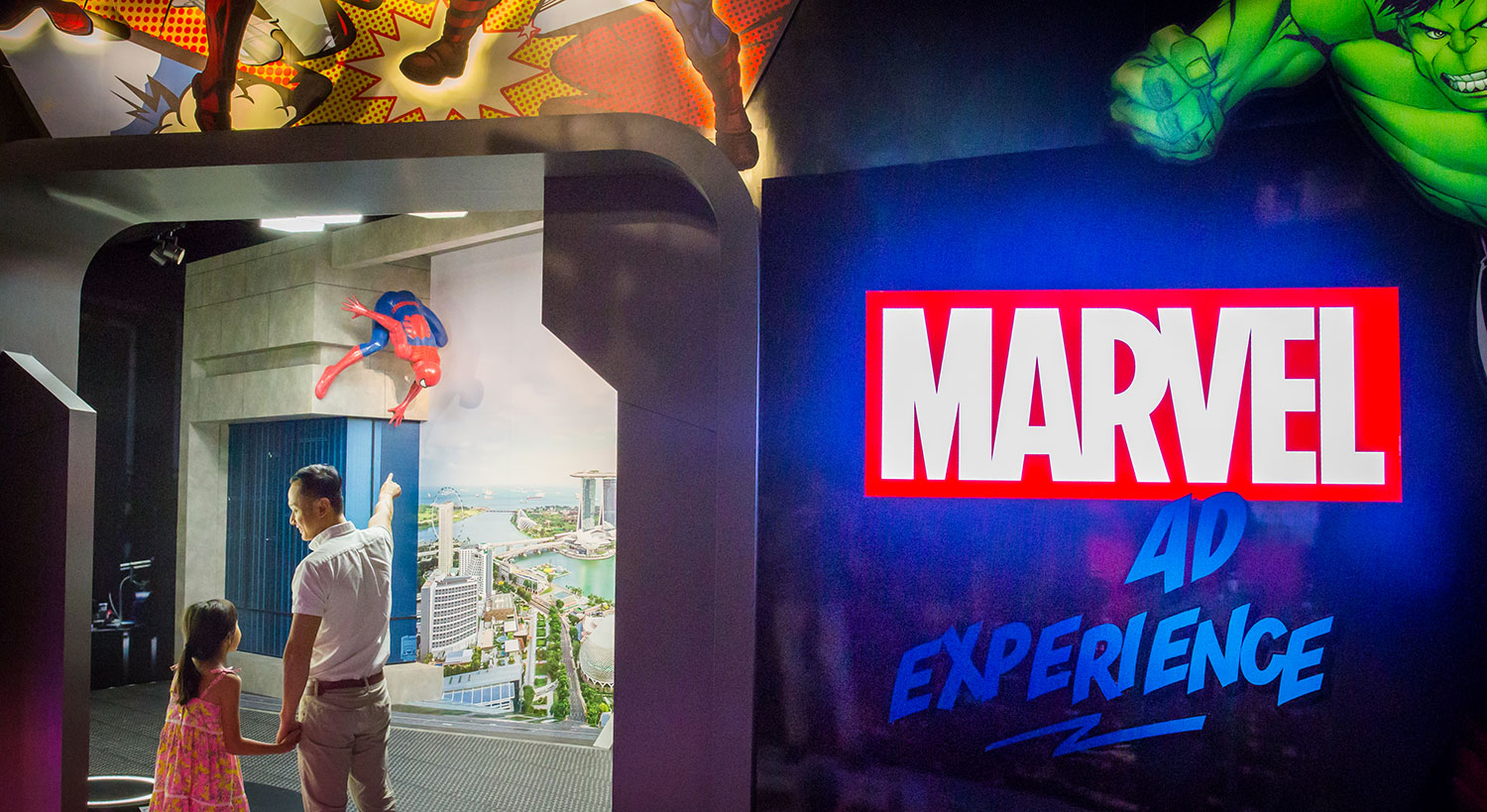 Madame Tussauds Marvel 4D Experience Opens Its Doors