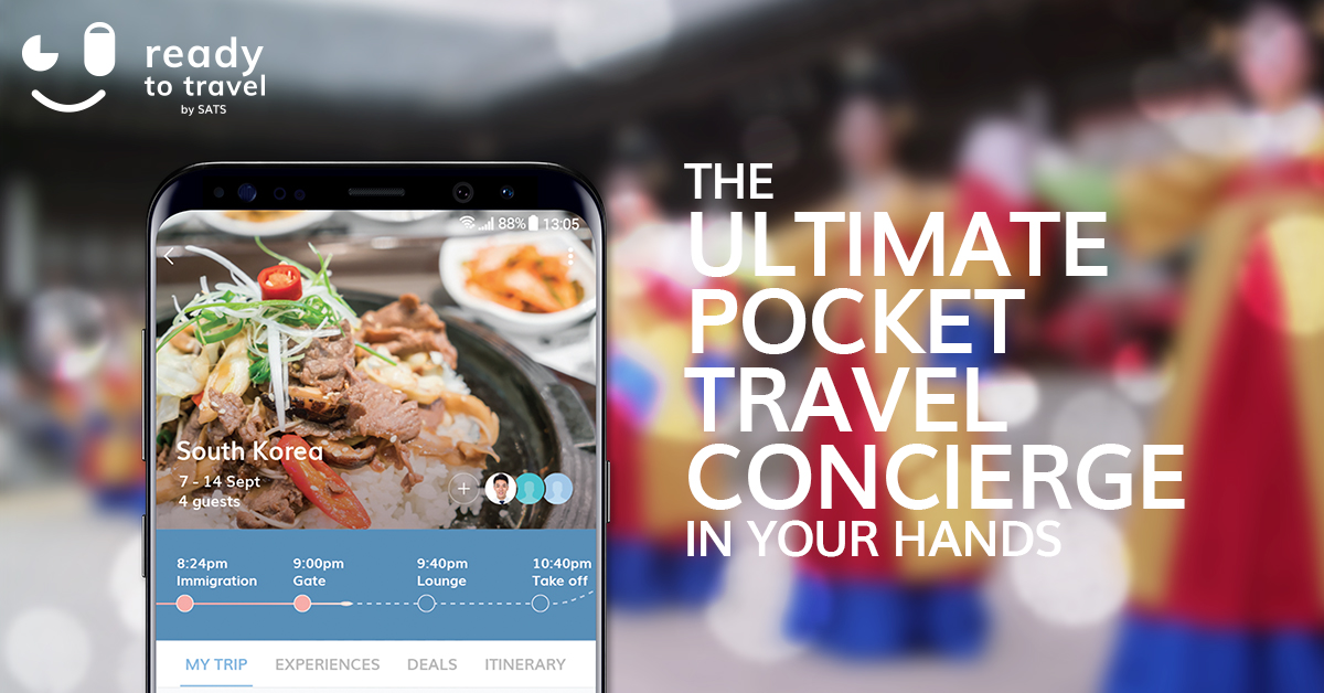 SATS Launches READY TO TRAVEL - A Predictive Mobile Travel Concierge