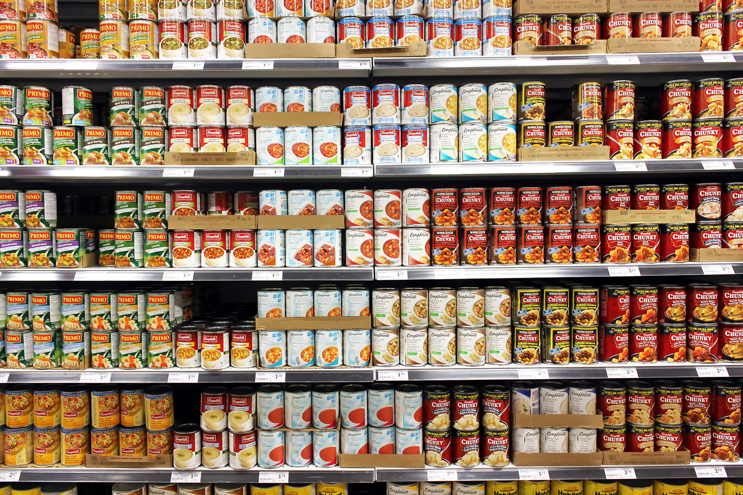 Canned food and Processed Food