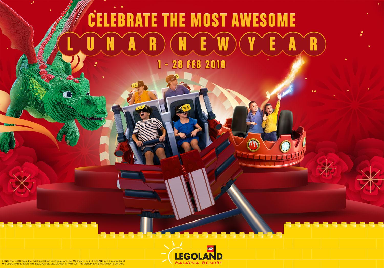 Awesome Lunar New Year awaits at LEGOLAND® Malaysia Resort