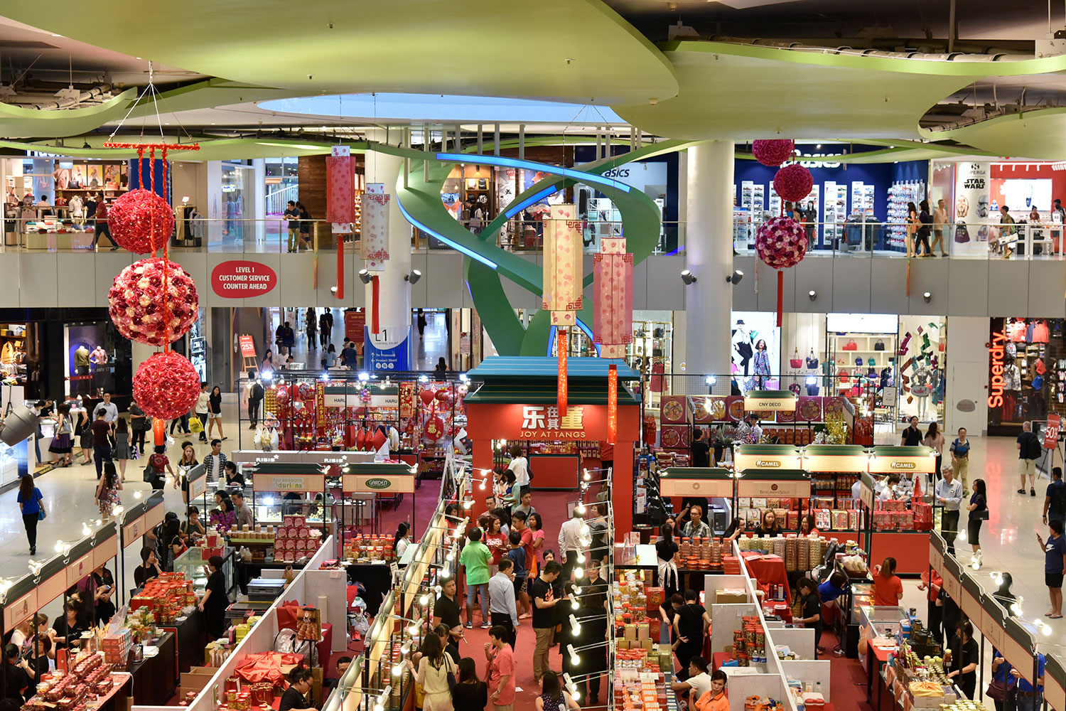 Celebrate a Year of Splendour and Fortune at VivoCity