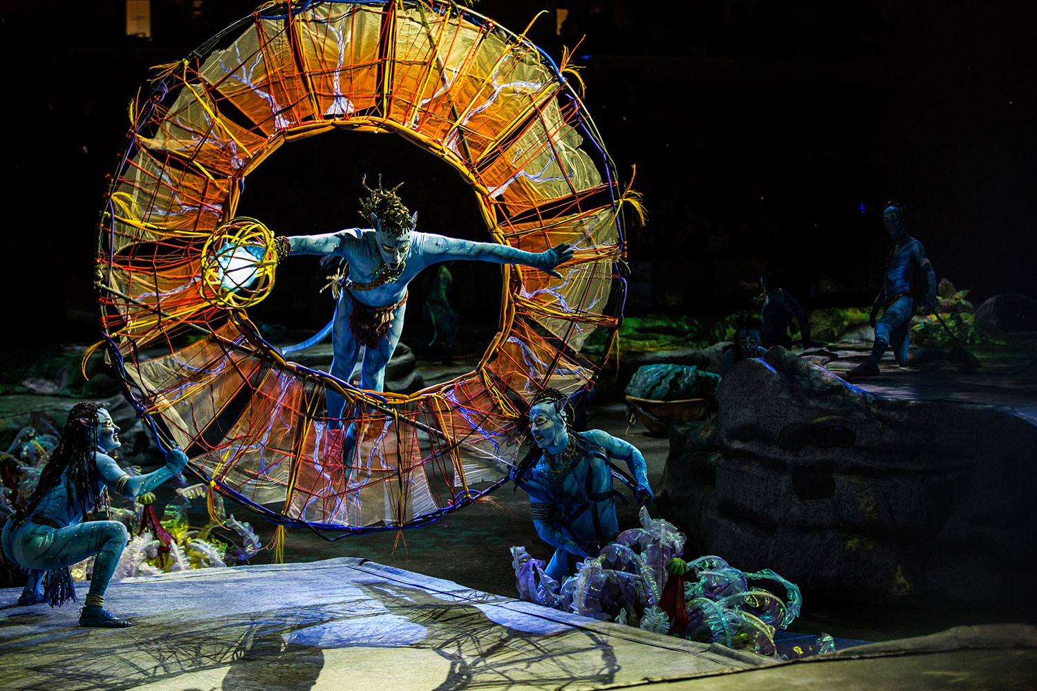 Inspired by James Cameron's AVATAR, TORUK - The First Flight by Cirque du Soleil opens in Singapore in May 2018!