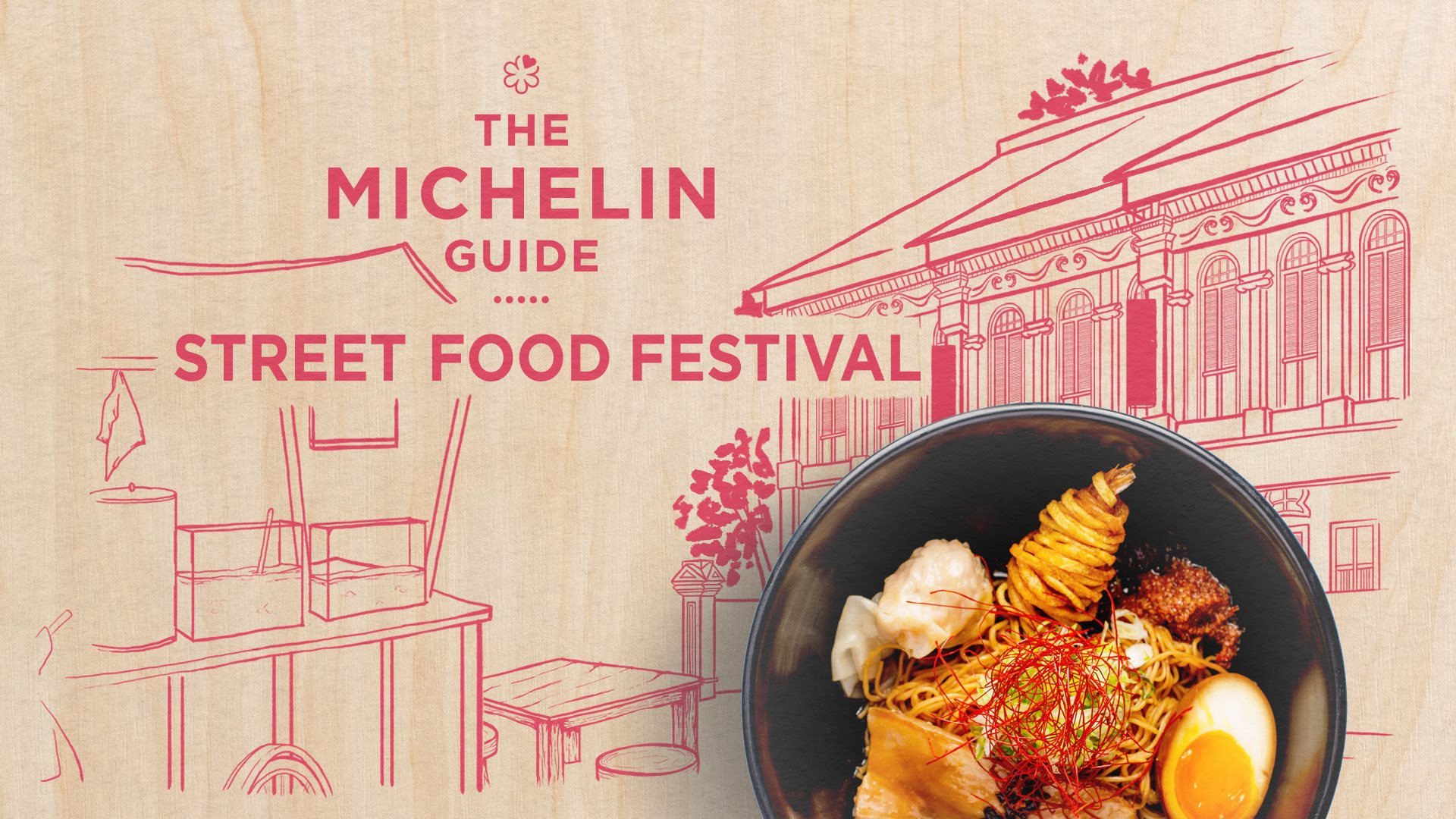 Singapore Michelin Guide Street Food Festival