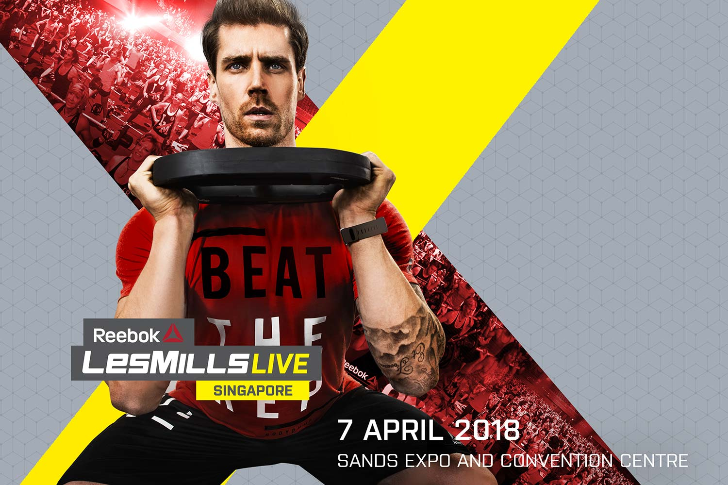 Reebok LES MILLS LIVE in Singapore for the First Time