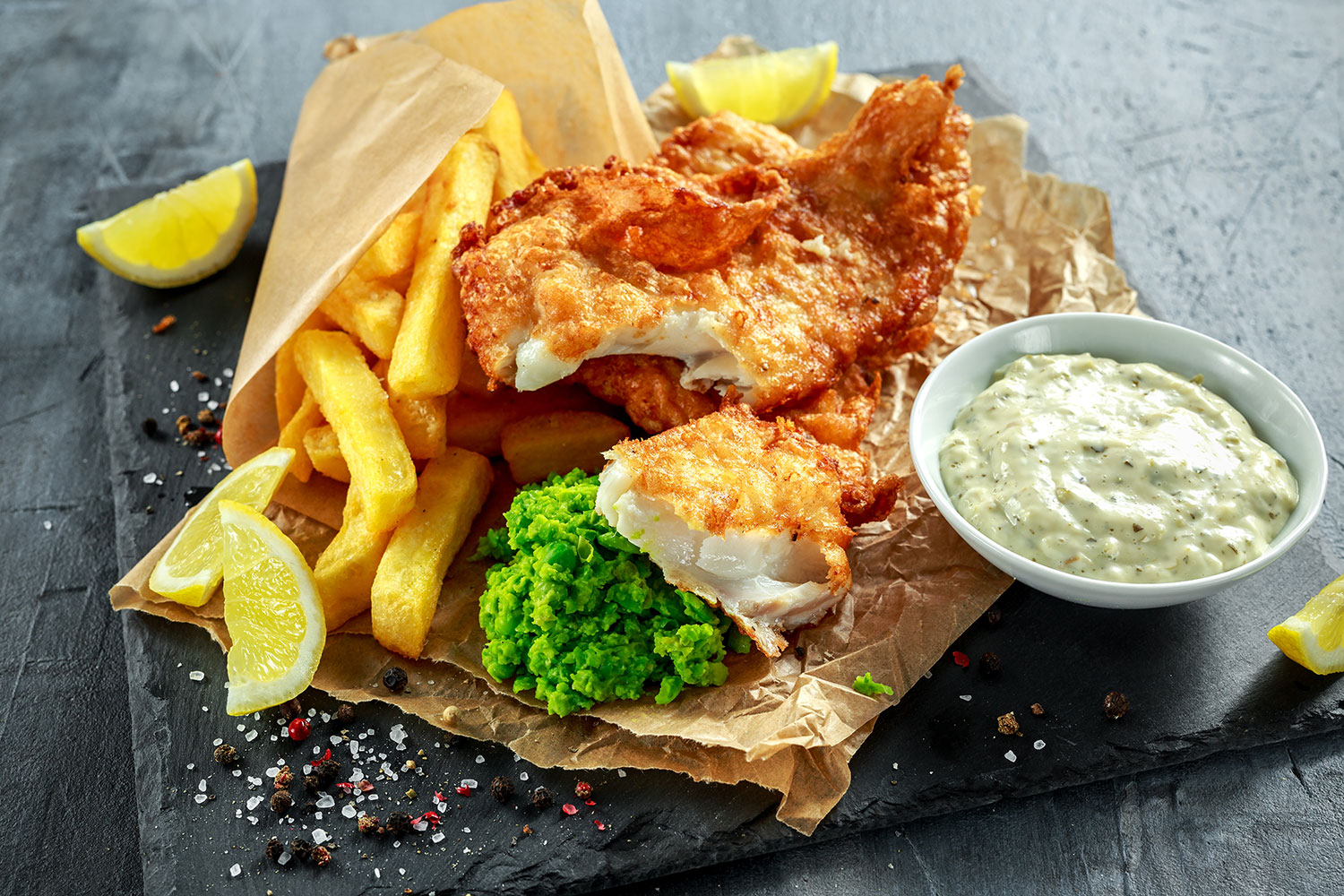 Atlantic-Cod-Fish-and-Chips-with-Mushy-Peas