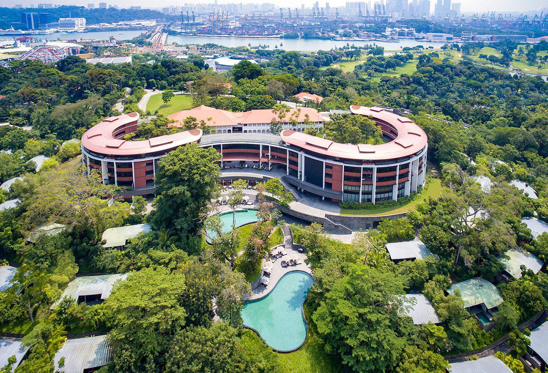 Capella-Singapore-Aerial-View
