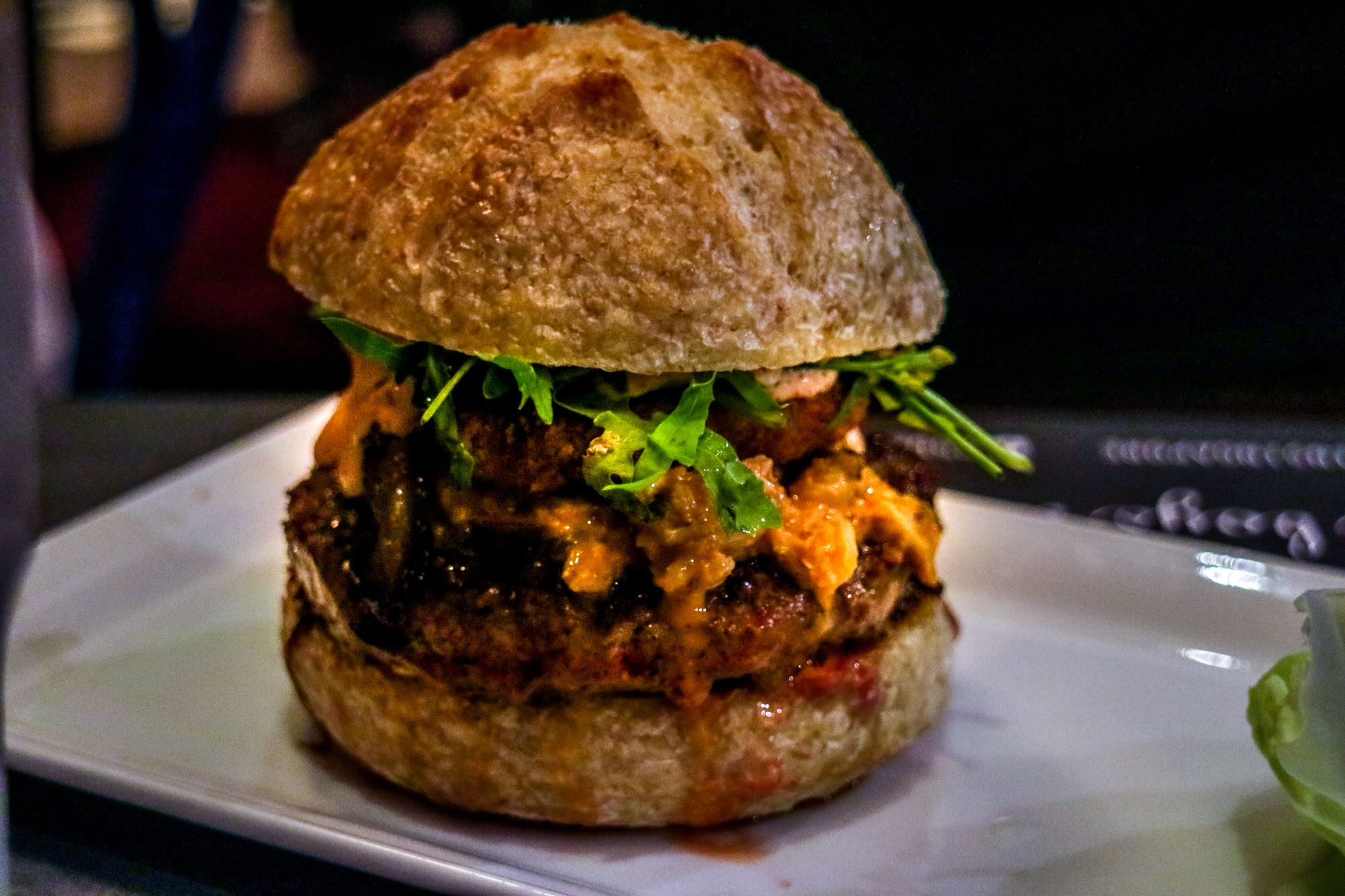 25 Degrees Burger and Liquor Bar - Bae Watch Burger & Peroni Set