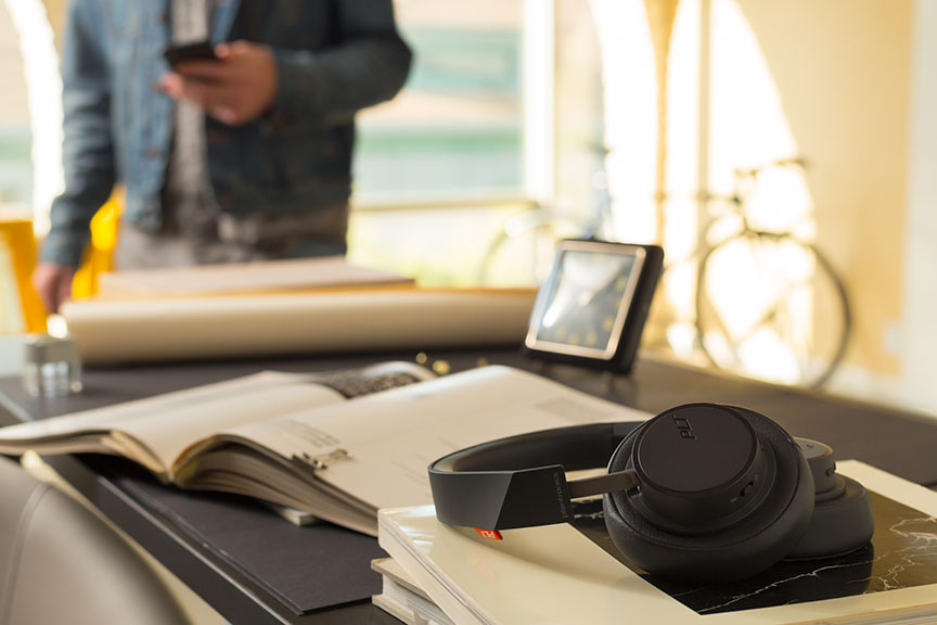 Plantronics Backbeat GO 605 Wireless Headphones: Superior and Personalised Sound