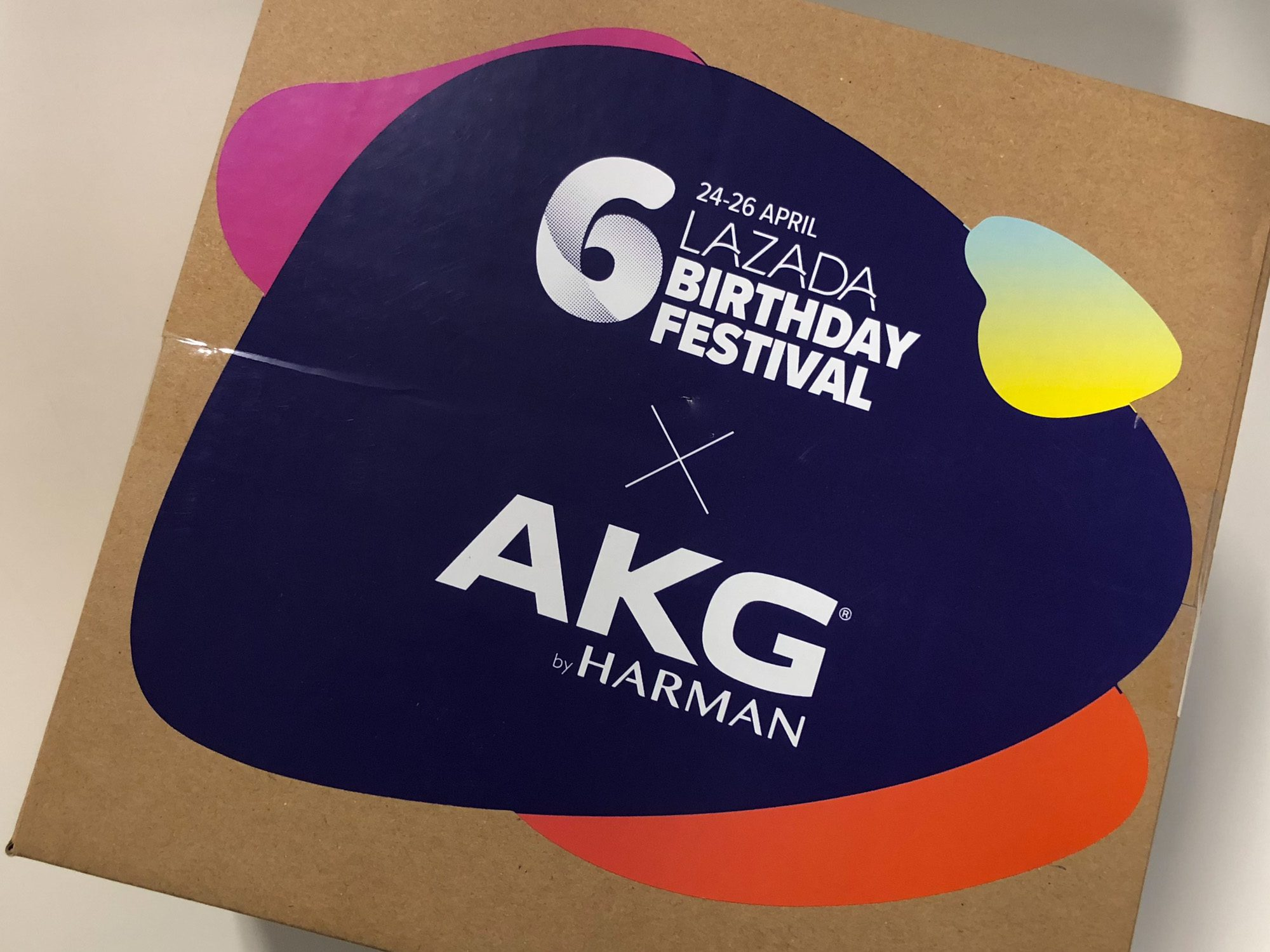 Lazada Surprise Box with AKG