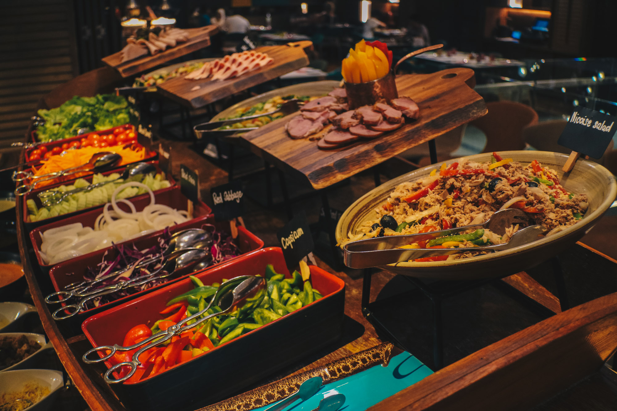 Bangkok - Amaya Food Gallery @ Amari Watergate