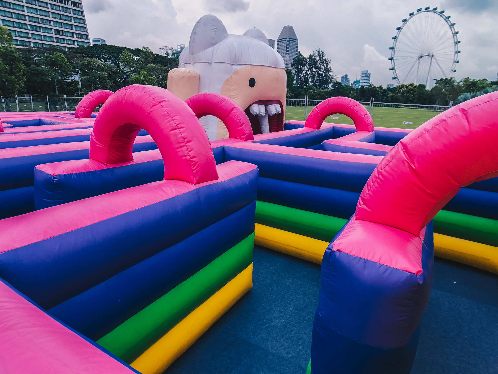 Cartoon Network Animate Your Life at Gardens by the Bay