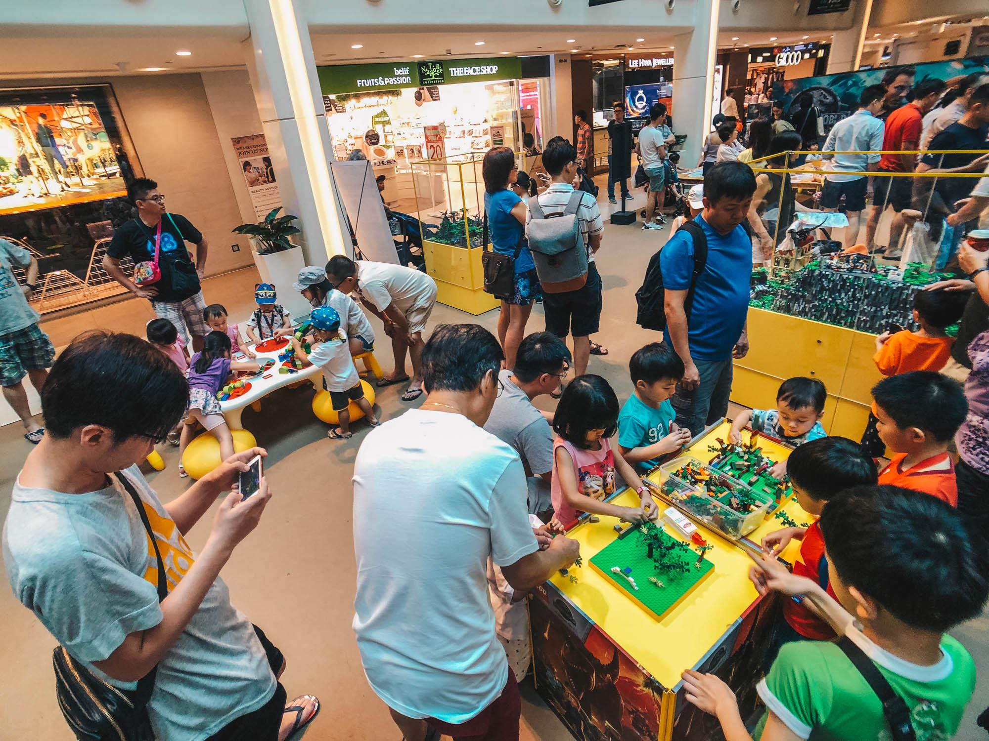 'Jurassic World: Fallen Kingdom' Adventure at Plaza Singapura