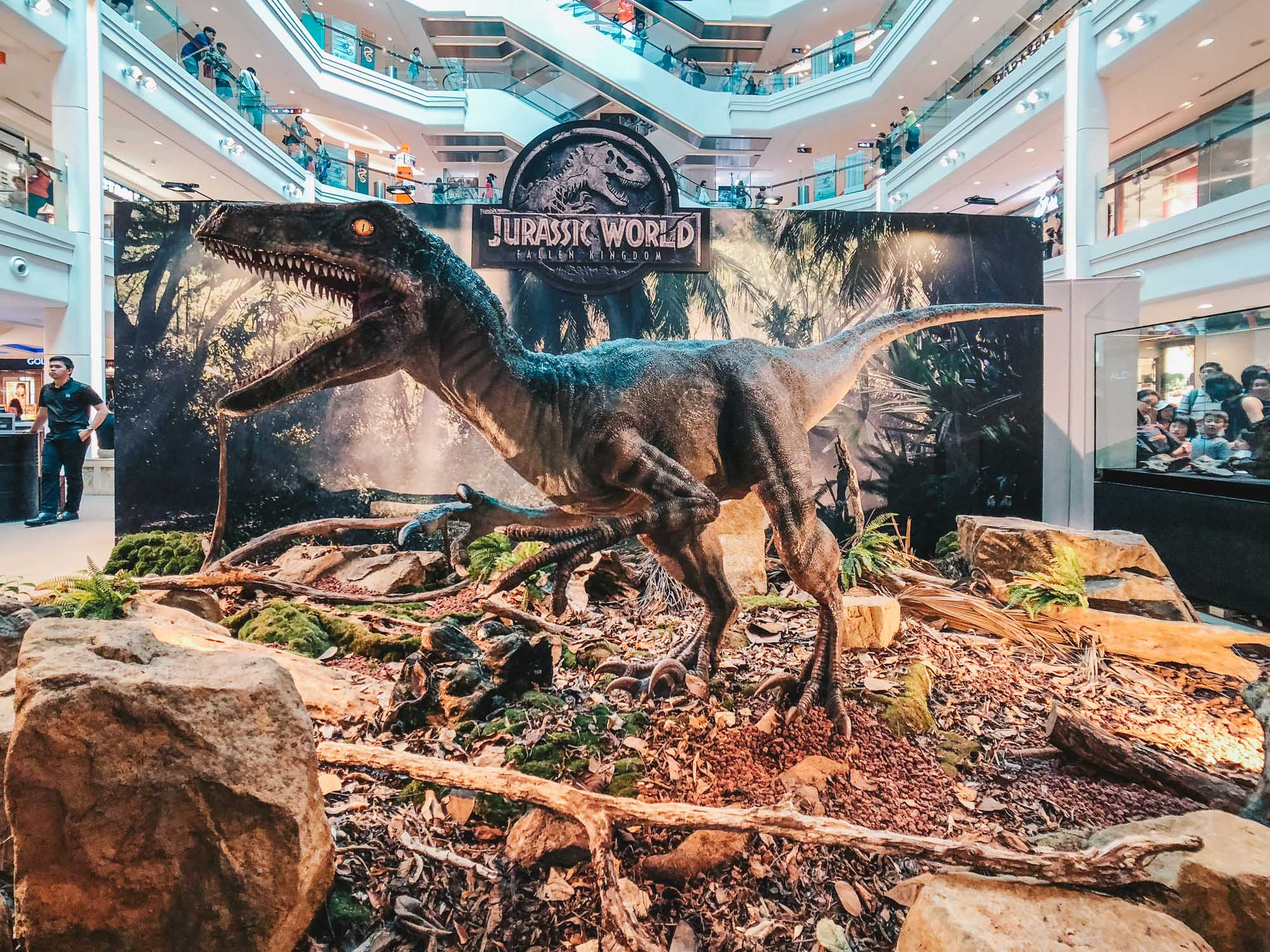 'Jurassic World: Fallen Kingdom' Adventure at Plaza Singapura