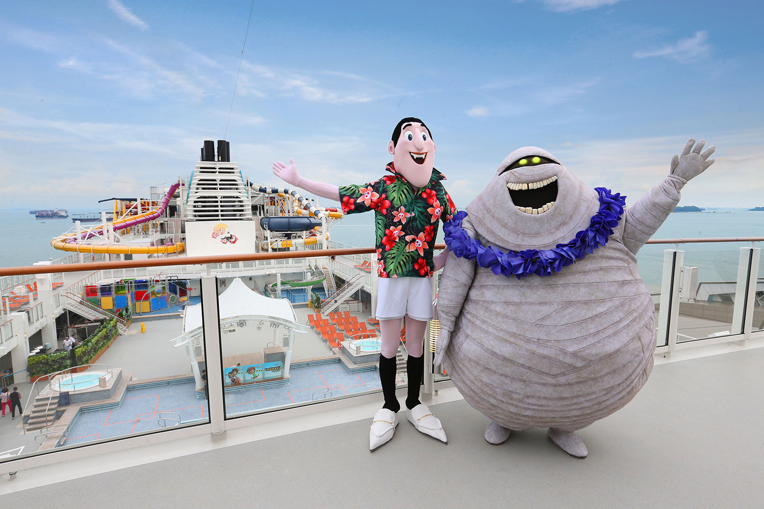 Go on a Monster Vacation with the Characters of Hotel Transylvania 3 onboard Dream Cruises