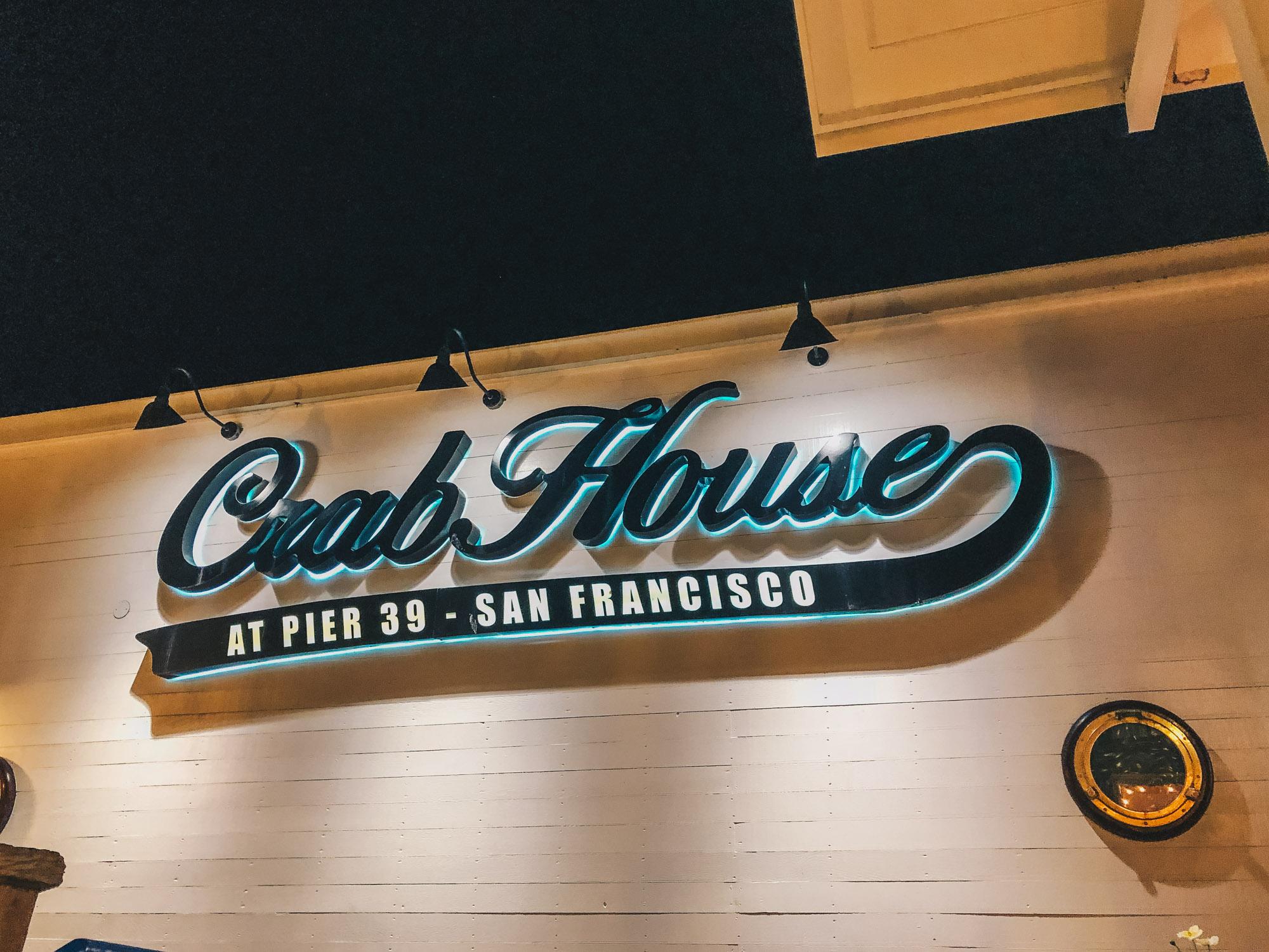 San Francisco - Crab House at Pier 39