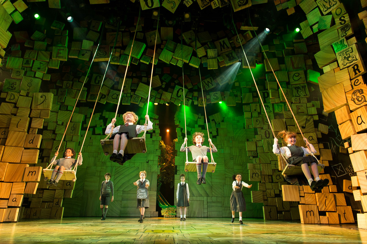 Matilda The Musical will make its debut in Singapore from 21 February 2019