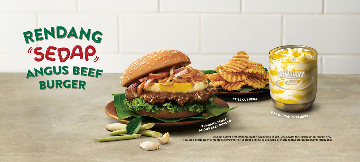 McDonald's® Singapore puts a twist on the Timeless Rendang