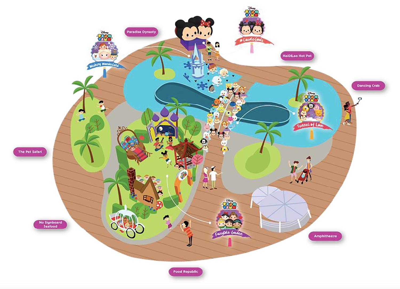 VivoCity presents Disney Tsum Tsum Mid-Autumn: A Celebration of Love