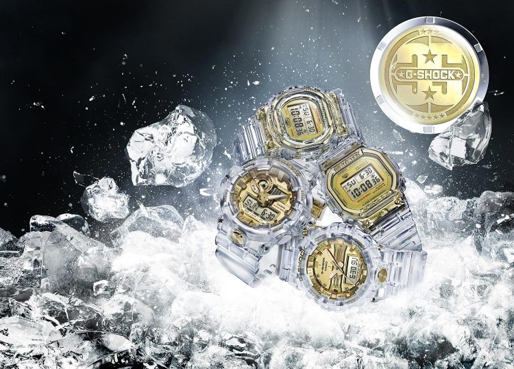 CASIO GLACIER GOLD 35th Anniversary G-SHOCK Collection