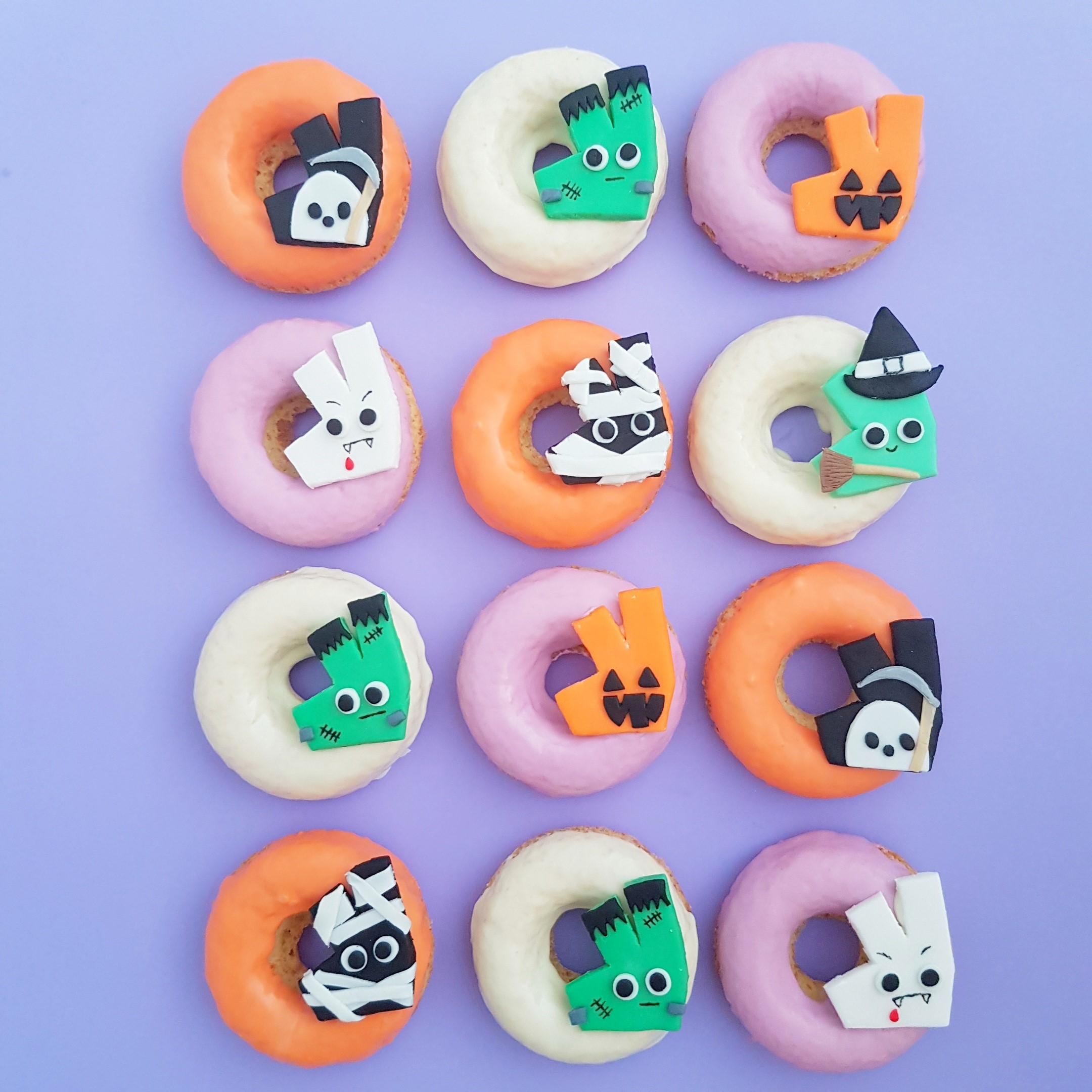 Deliveroo Halloween Donuts
