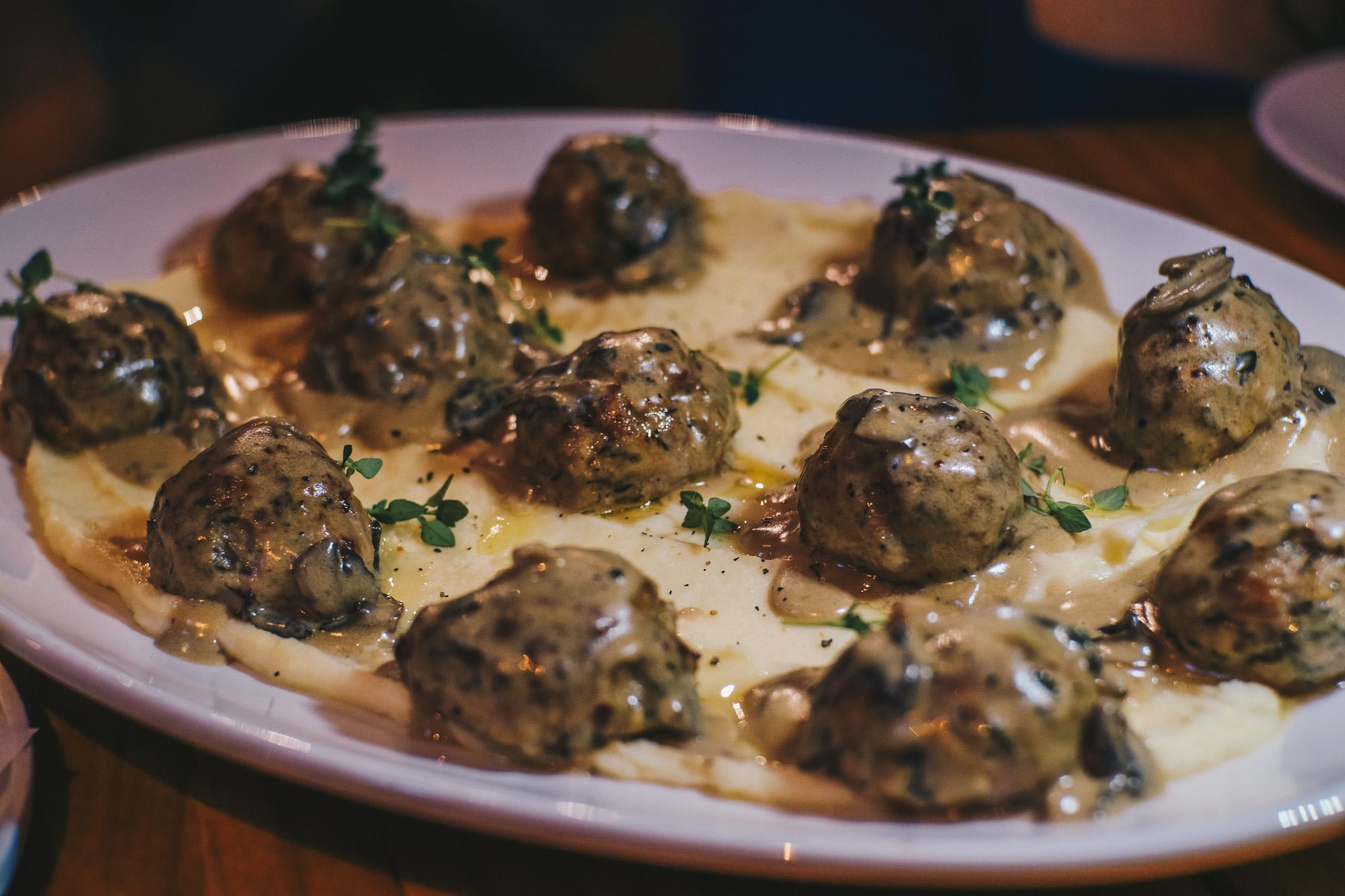 Club Meatballs - Revamp Menu!