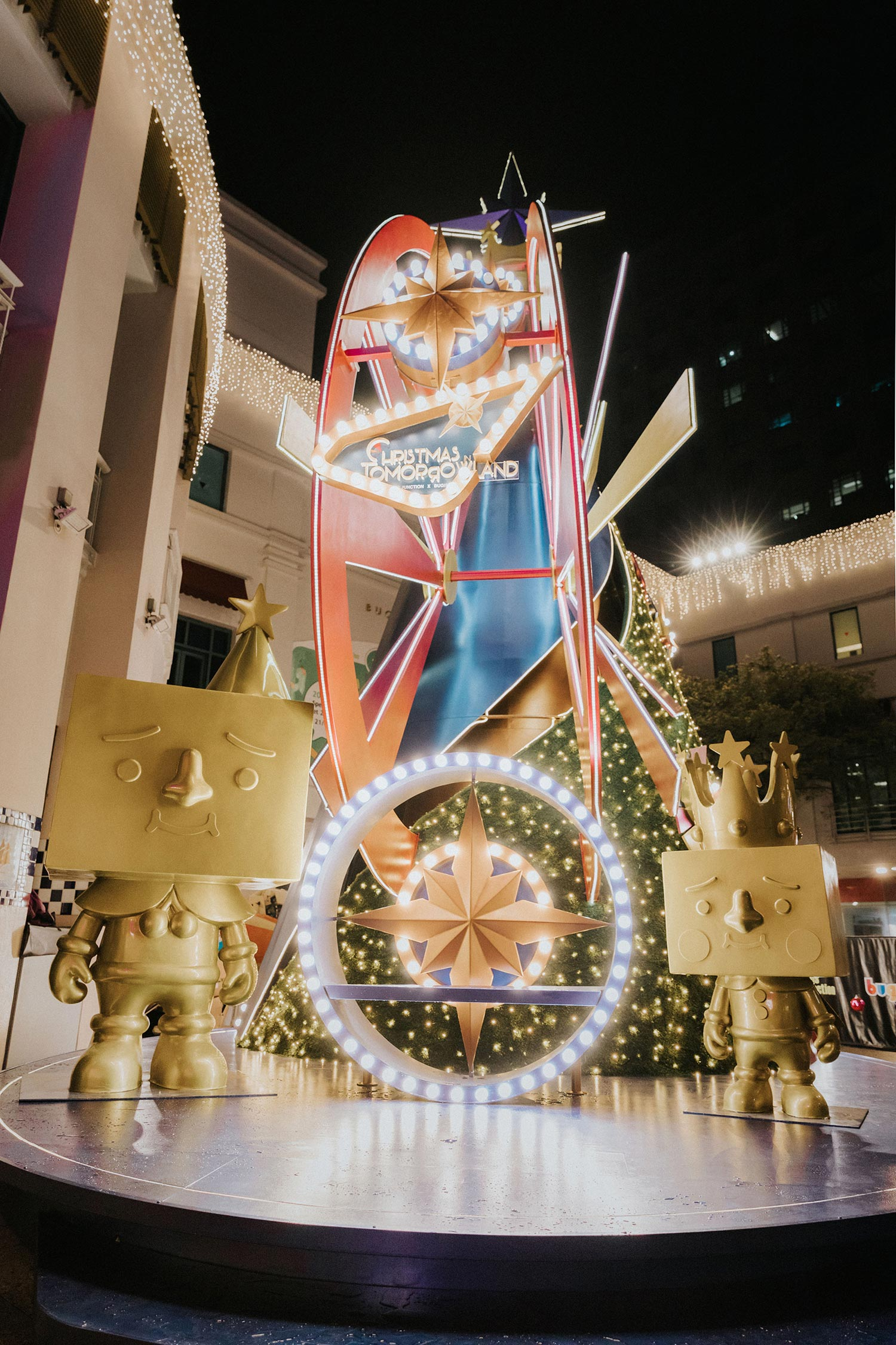 Christmas Celebration with TO-FU OYAKO IN TOMORROWLAND at Bugis Junction and Bugis+
