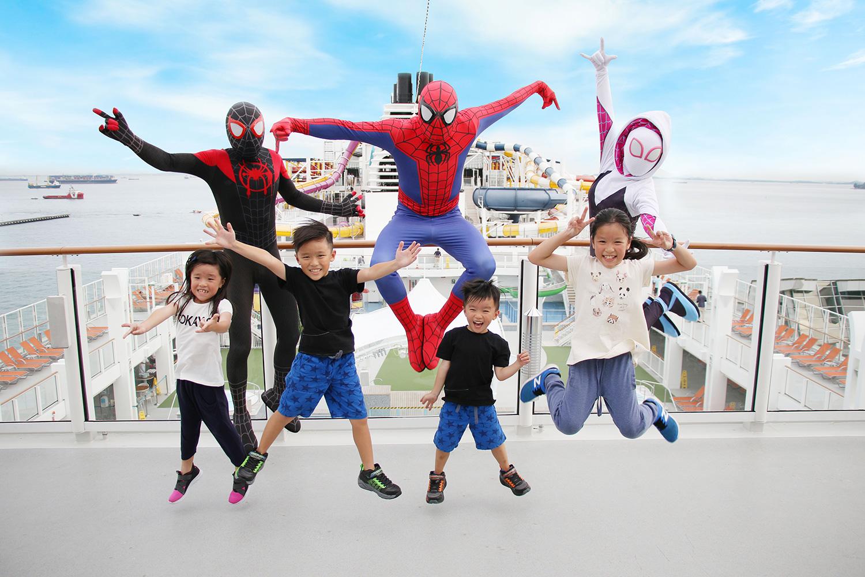 Genting-Dream-x-Spider-Man