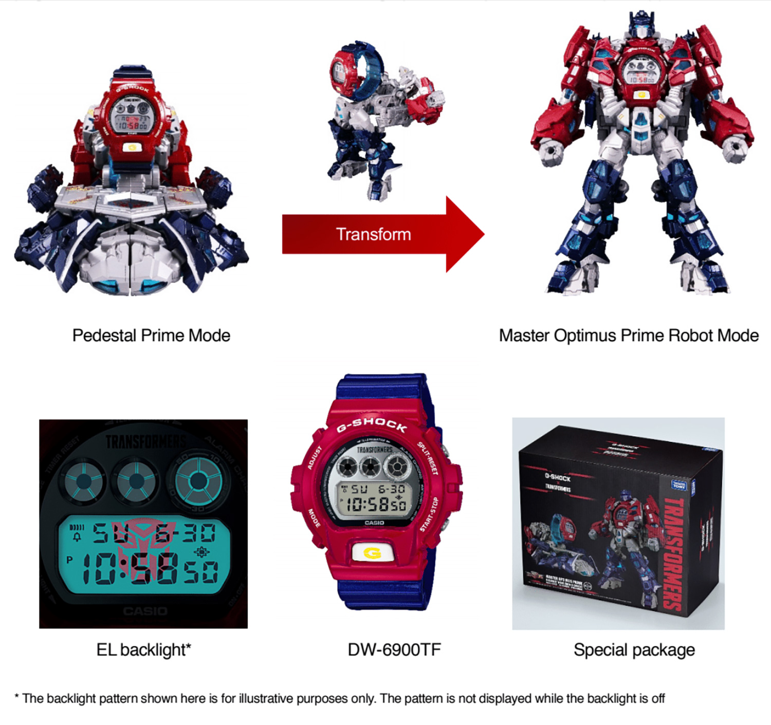 Casio to Release G-SHOCK x TRANSFORMERS Special Collaboration Model in Dec 2018