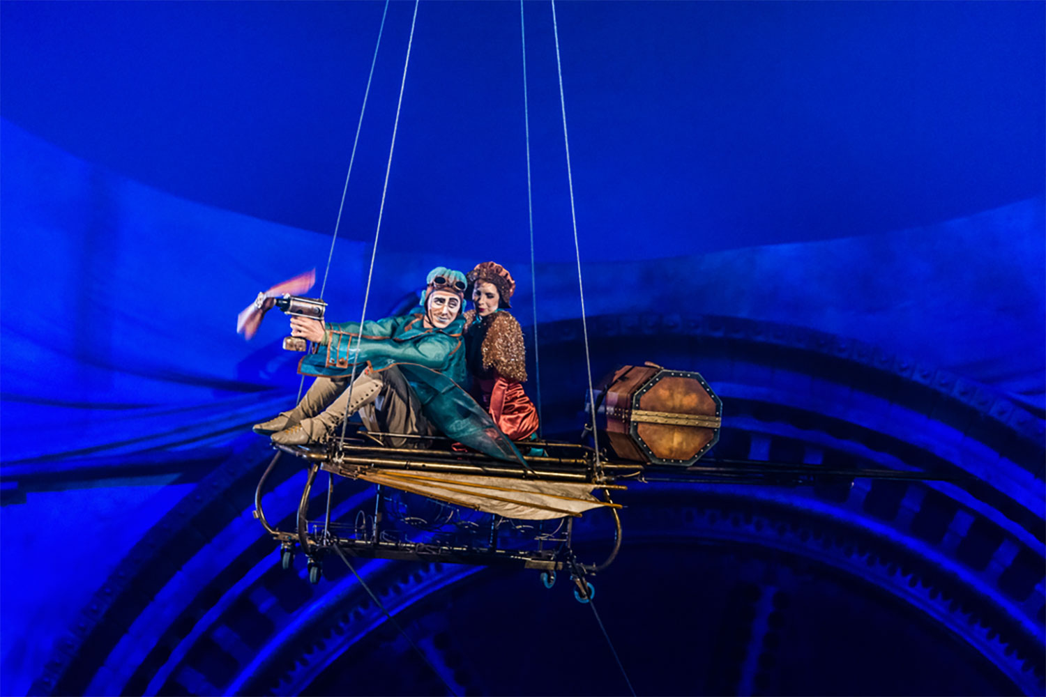 CIRQUE DU SOLEIL is coming to Singapore withK KURIOS - Cabinet of Curiosities!