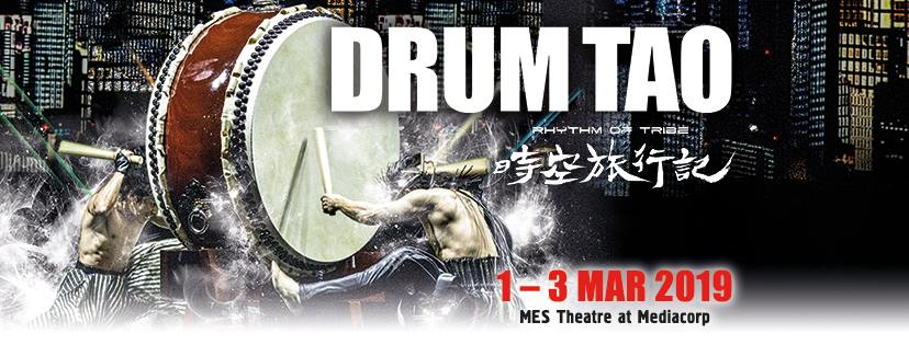 Japan's no. 1 sensation, Drum Tao is back to Singapore this March