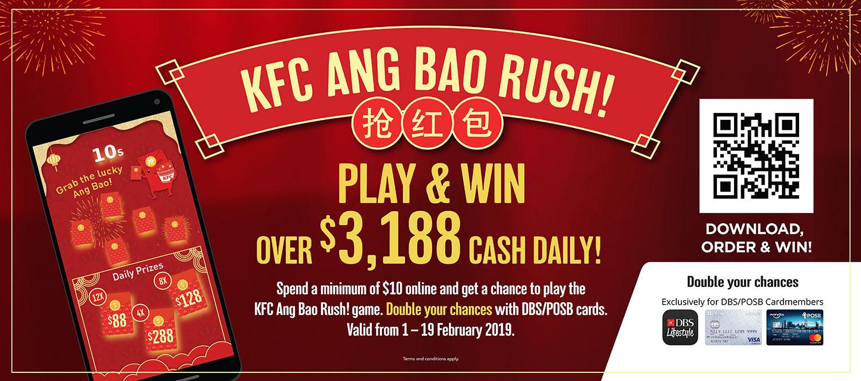 KFC Ang Bao Rush