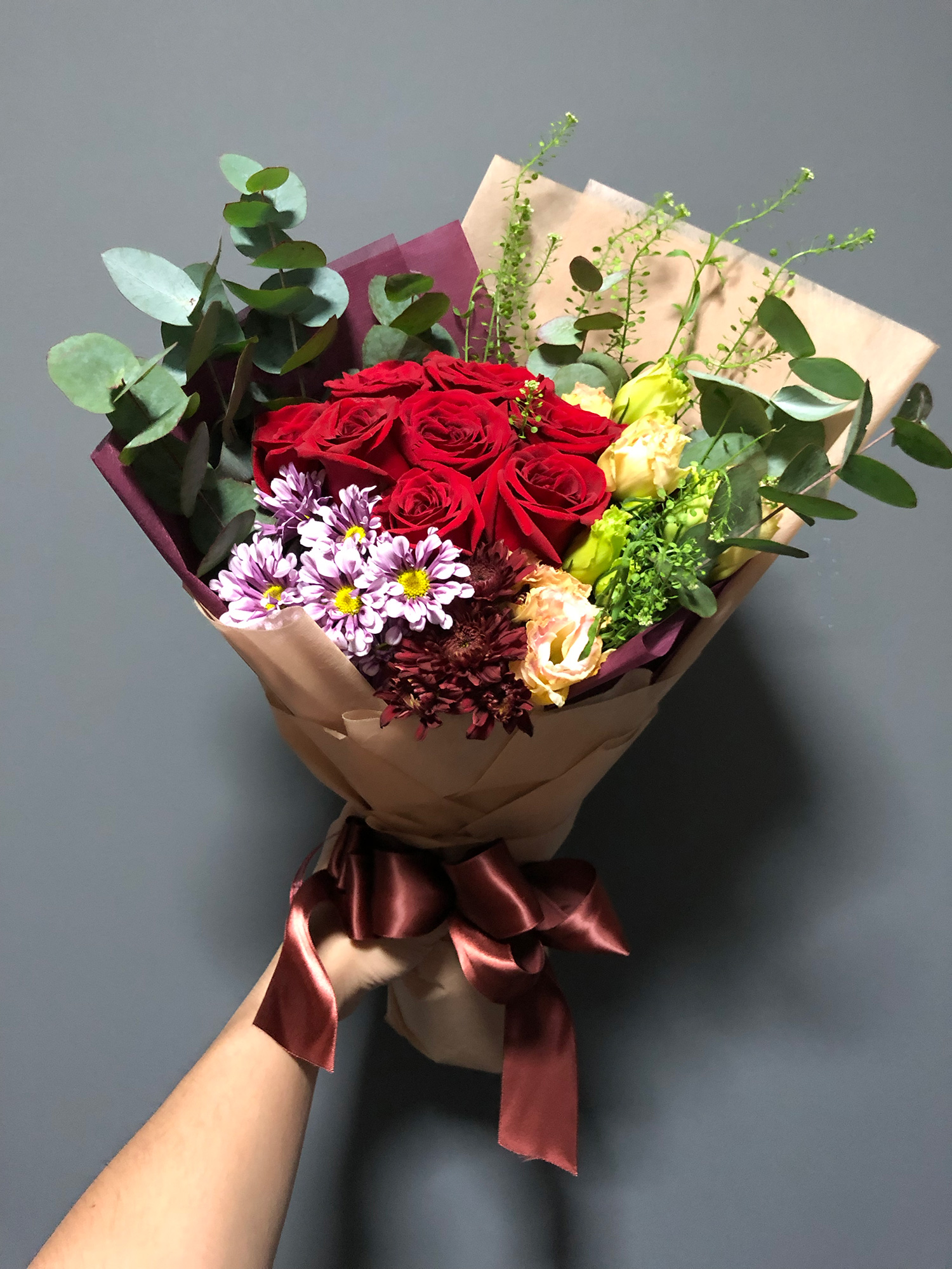 Valentine's Day Flower Bouquet from FARM Florist