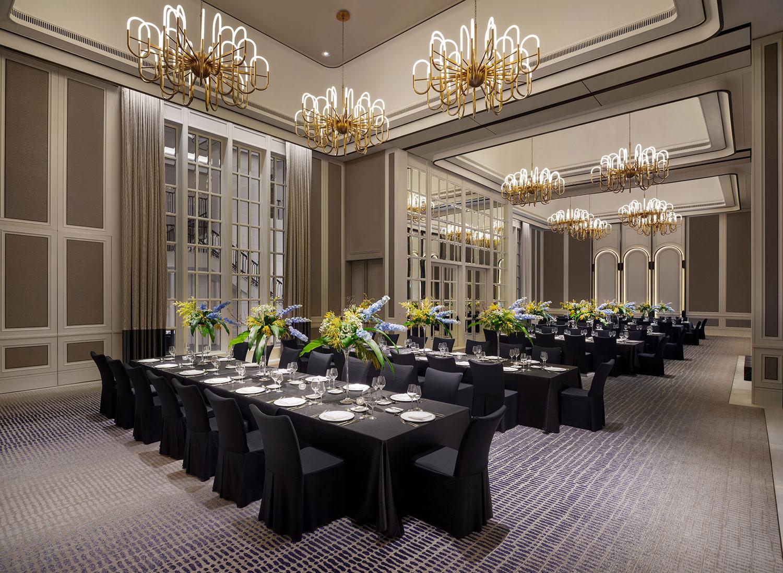 PHOTO - ST. REGIS SINGAPORE / Caroline's Mansion Grand Gala Setup
