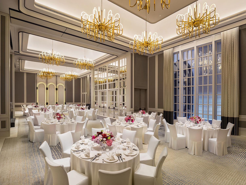 PHOTO - ST. REGIS SINGAPORE / Caroline's Mansion Wedding Oriental Setup