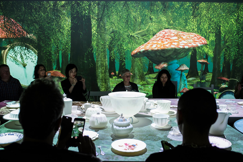 Mad Hatter's Tea Party at Wonderland, ACMI, Photo: Phoebe Powell