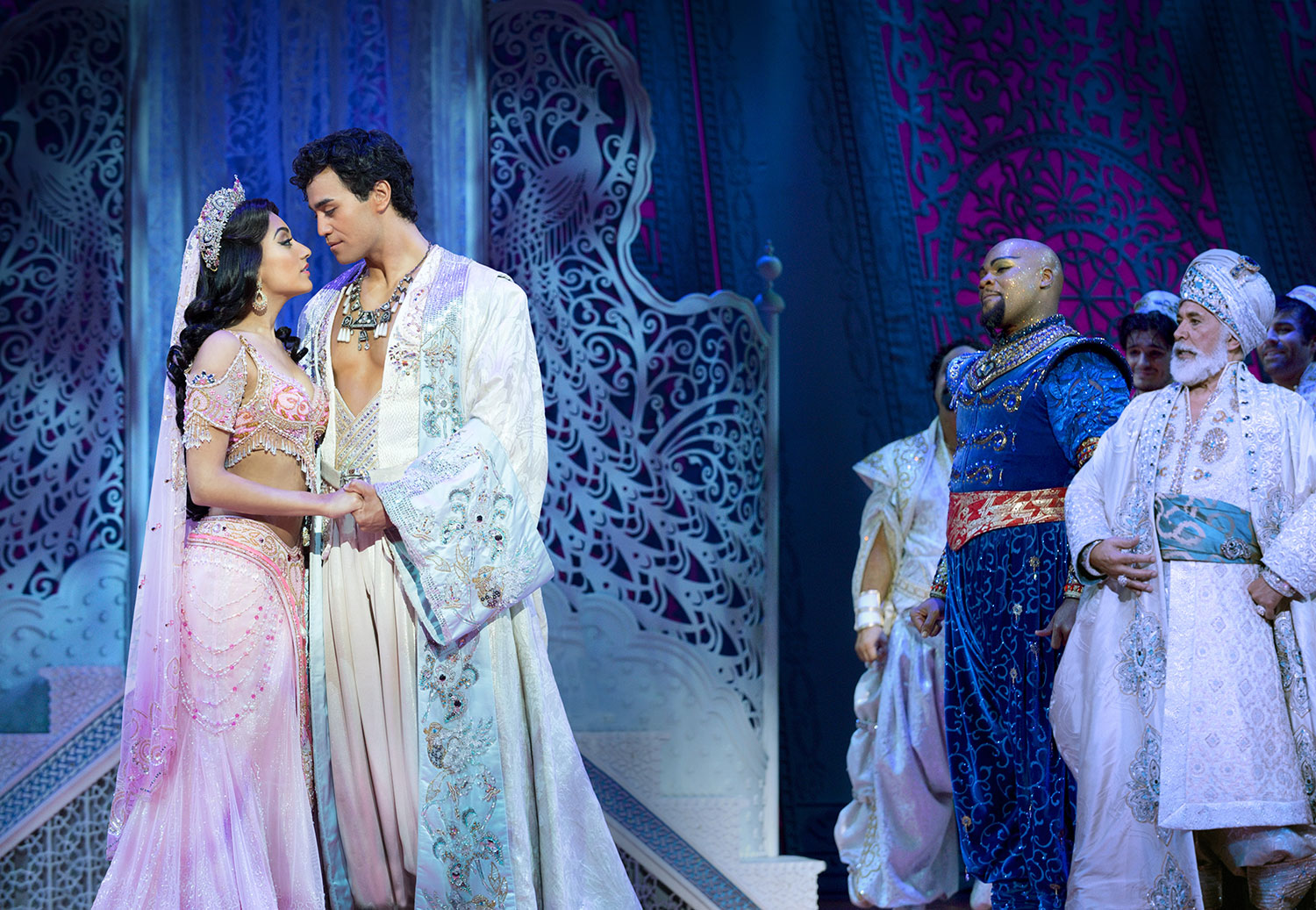 Aladdin the Broadway musical in Singapore