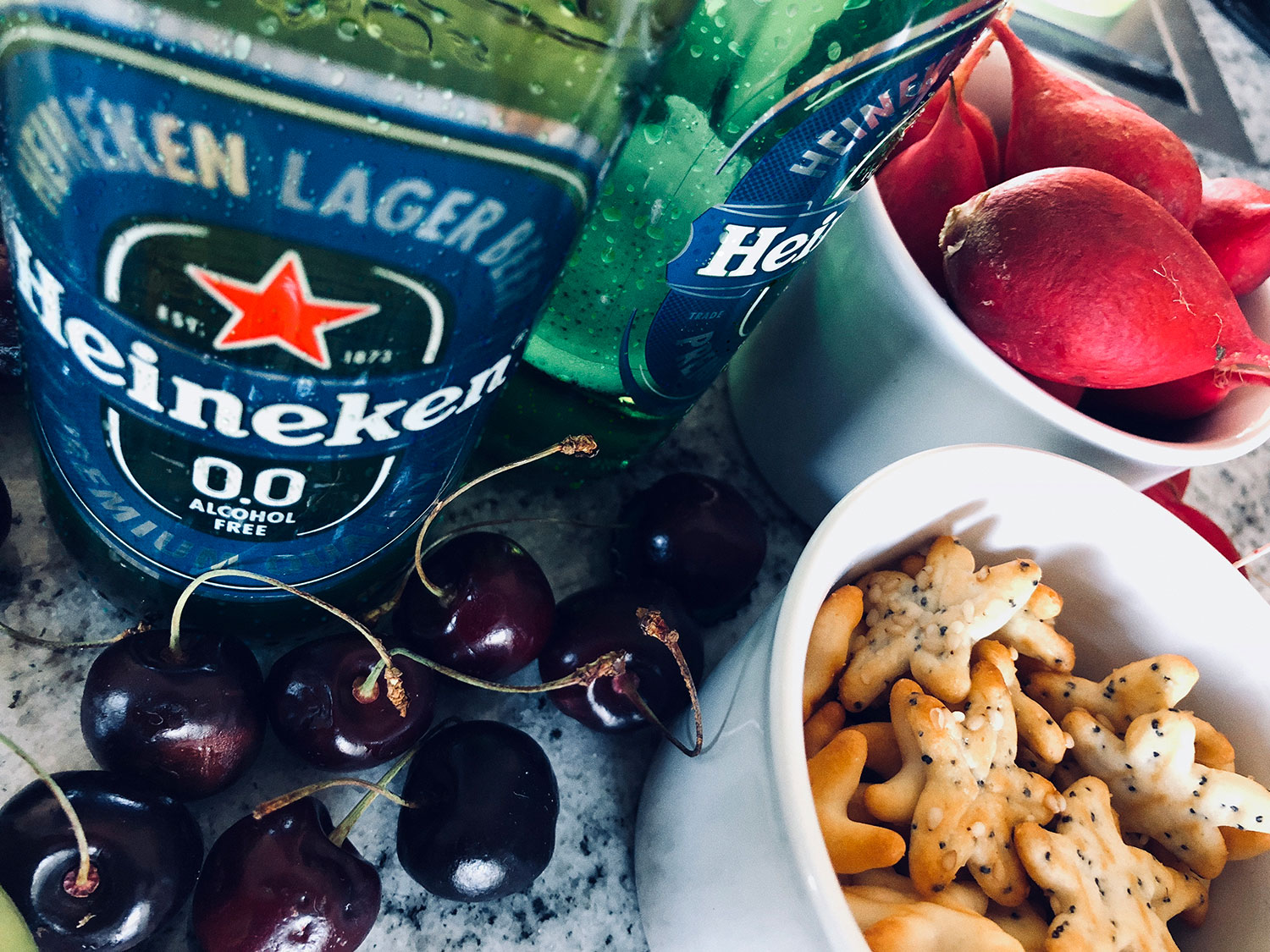 Heineken® 0.0: Great taste, all natural, only 69 calories and zero Alcohol
