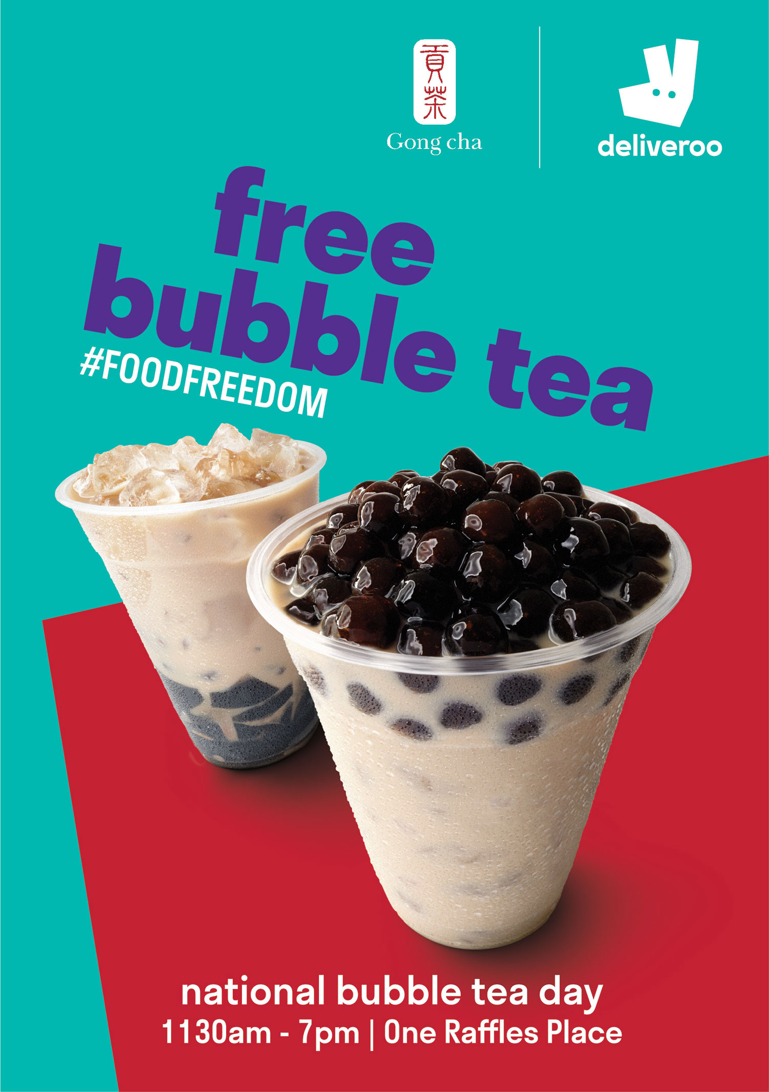 Deliveroo-x-Gongcha-Promotional-Poster
