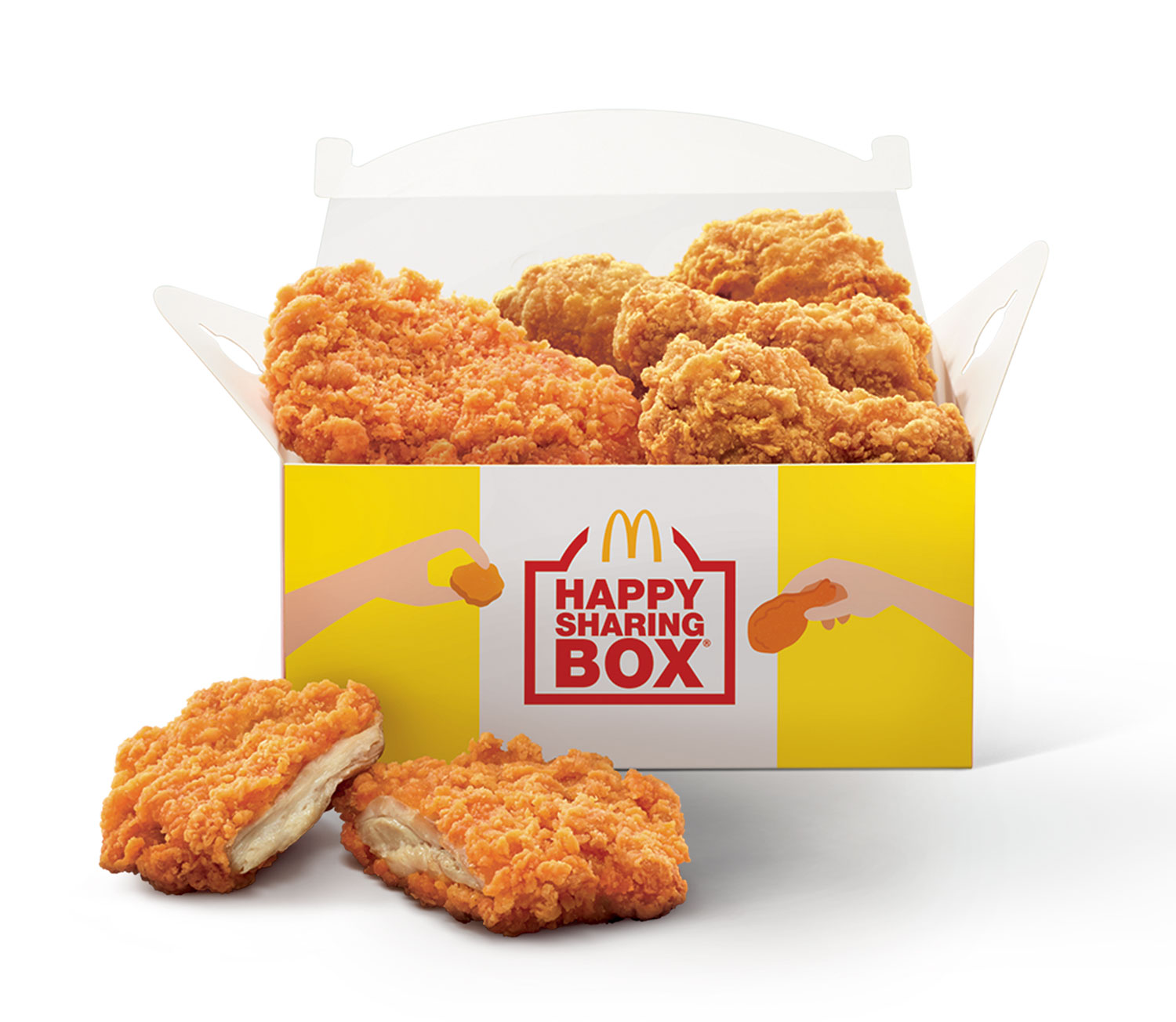 Happy Sharing Box C, available via McDelivery and GrabFood at $6.90 (U.P. $9.70)