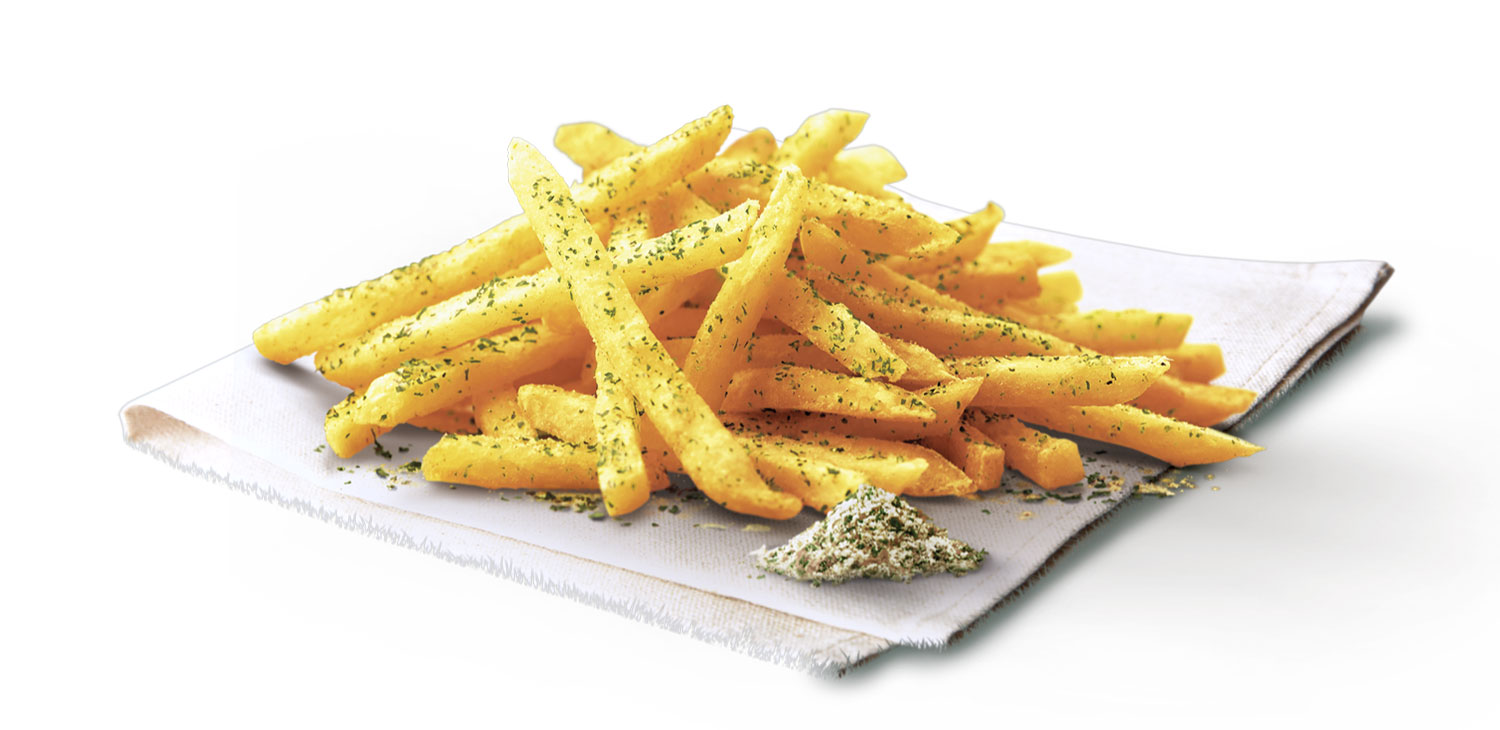 French Onion Shaker Fries, available with every upsized Extra Value Meal