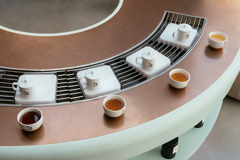 Lishan-Qingxin-Oolong-Tea-in-5-different-roast-levels
