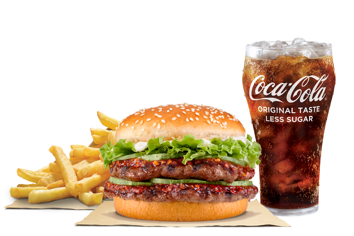 Share a FREE burger from Burger King with your favourite